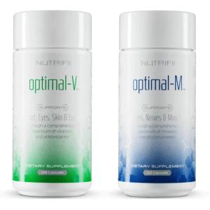 Optimal-V & Optimal-M - Voedingssupplement - Energie - ARIIX product