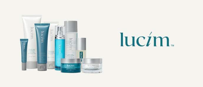 Lucim est la gamme de soin de peau de la marque Ariix. Lucim est composée du Total Face Serum, de Renewing Night Cream, Purifying Exfoliator, Facial Gel cleanser, day defense cream et du Skincerity