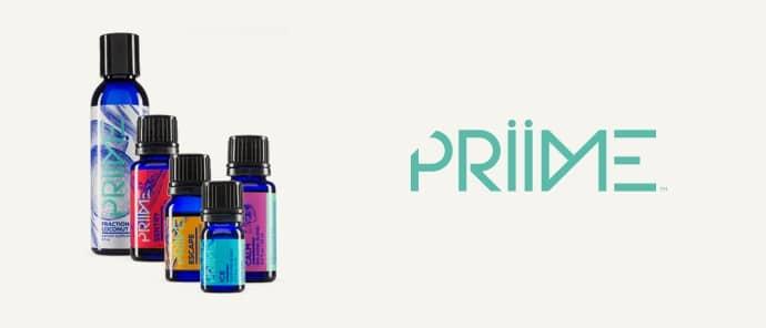 Priime est une gamme d'Ariix qui est composée d'un ensemble d'huiles essentielles multi-usages comme Escape, Sentry, Ice, Calm ou l'huile de coco.